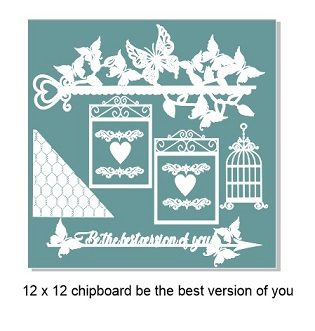 Be the best version of you,Multi frame, 12 x 12 , min buy 3 ,Chi